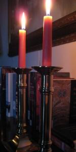 Dusk Candle light