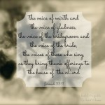 Sabbath Word…  Voice