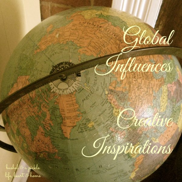 Global influences Creative insiration