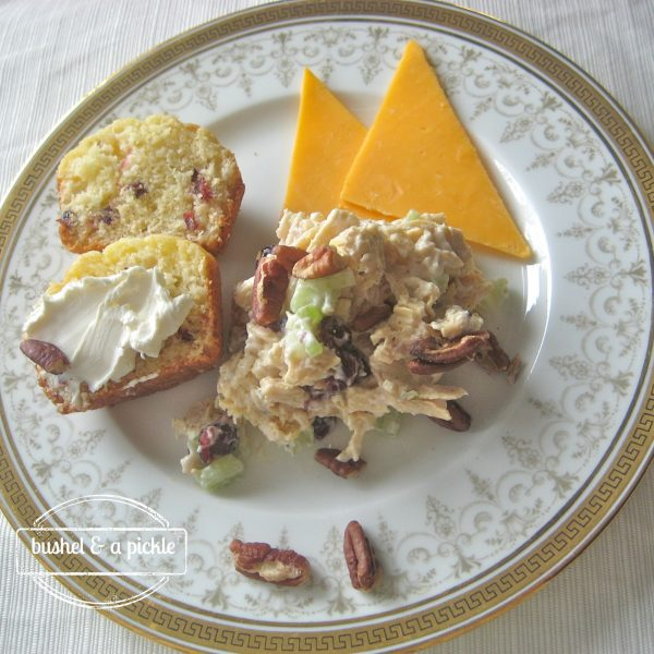plain falling in love chicken salad