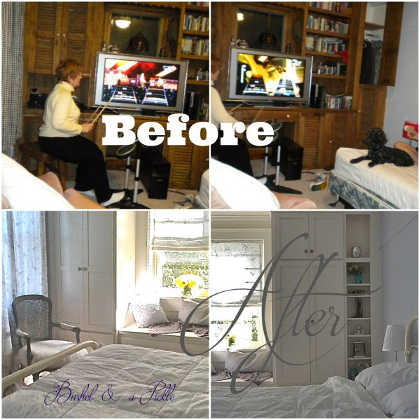 Amy room before after
