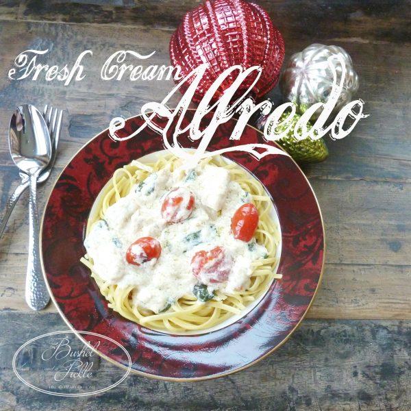 fresh cream alfredo