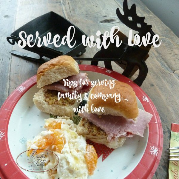 served with love