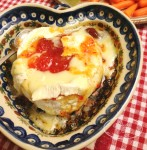 Baked Brie with Red Pepper Jelly