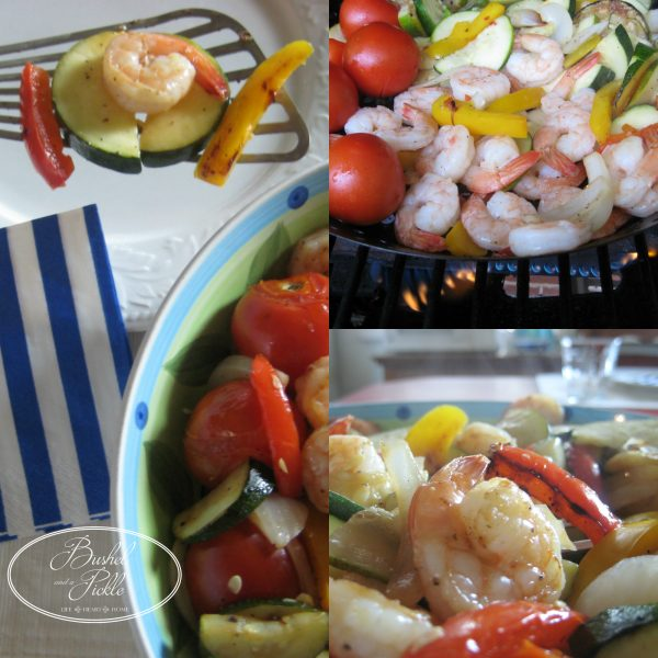 Grilled Shrimp and Vegetables