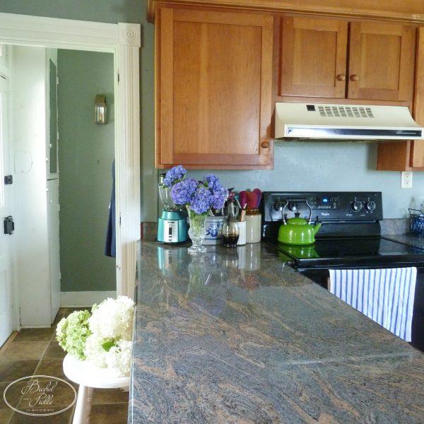 Kitchen & Hydrangeas