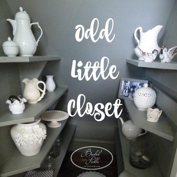 odd little closet