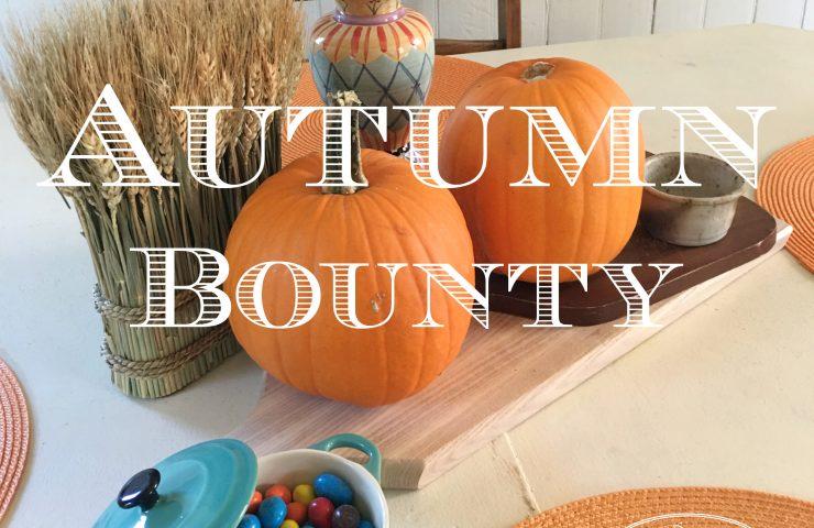 Autumn Bounty & Pie
