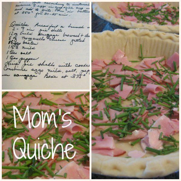 Mom's quiche