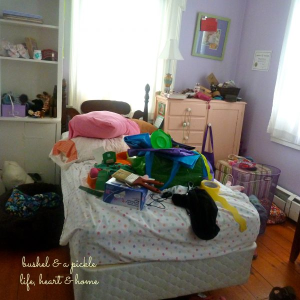 meg's bed pre redo
