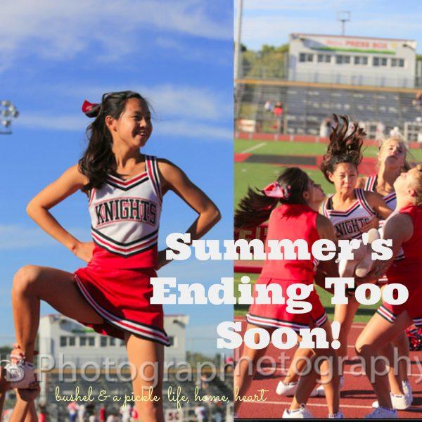 summer's Ending too soon