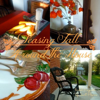 Teasing Fall Around the House