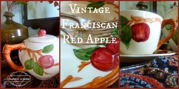 Vintage Franciscan Red Apple 2