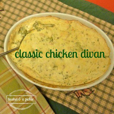 Classic Chicken Divan