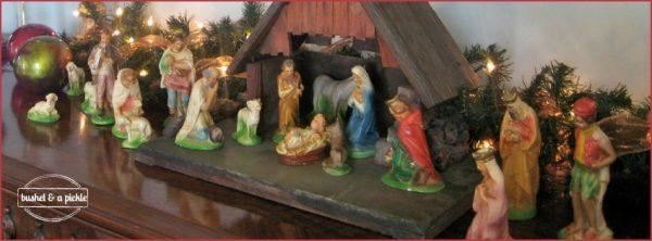 almost full Italian nativity