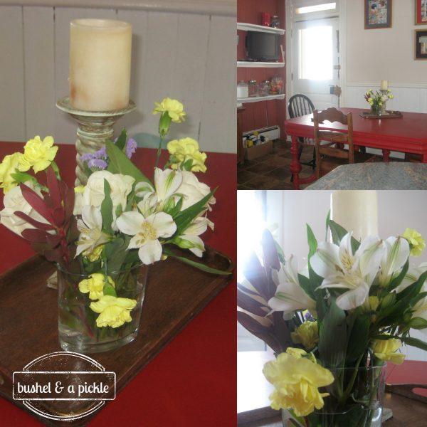 kitchen winterflowers