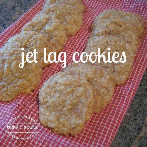 jet lag cookies