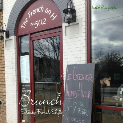 DC Brunch Shabby French Style
