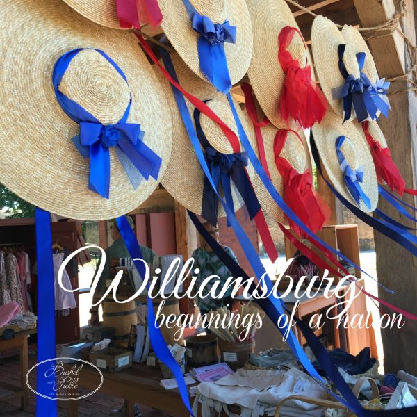 Williamsburg beginnings of a nation