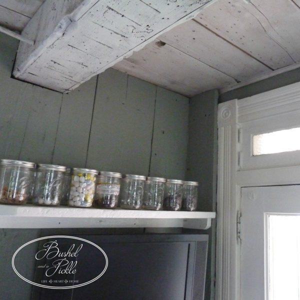 Kitchen mason jars