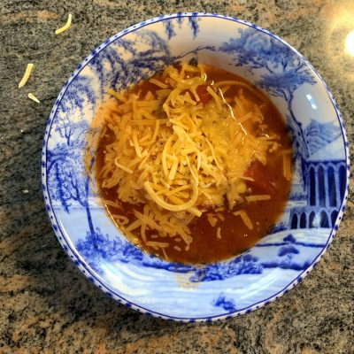 Omega's Chili… Comfort Food