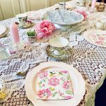 Tablescape for a Tea Party