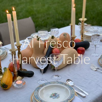 Al Fresco Harvest Table