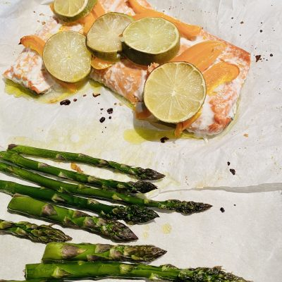 Salmon Sheet Pan Meal