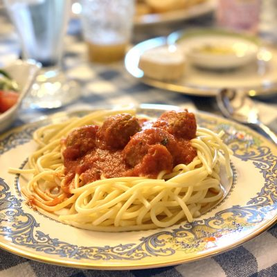 Easy Meal… Spaghetti and Meatballs