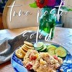Cold Tuna Pasta Salad for Summer Days