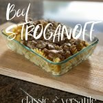 Beef Stroganoff Classic and Versatile