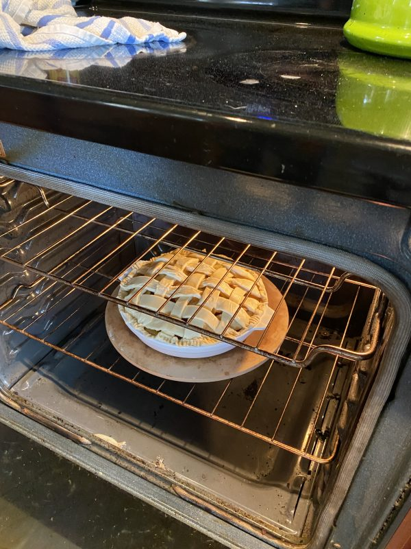 Meg Apple Pie Baking