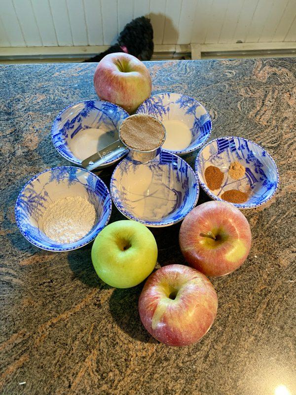 Meg Apple Pie Ingredients