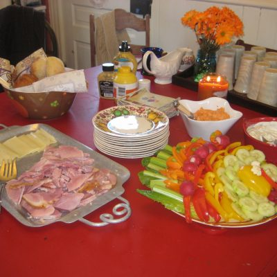 Thanksgiving Morning Appetizers
